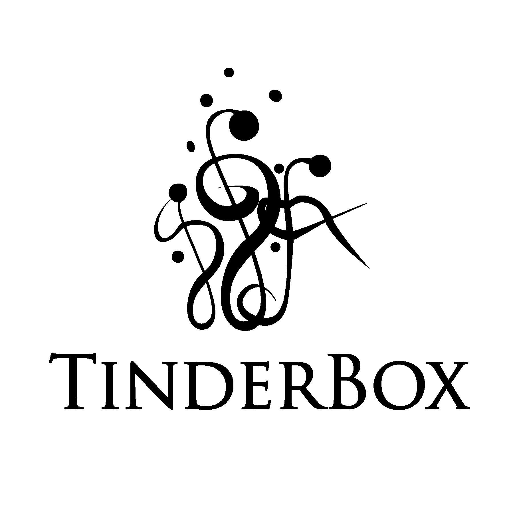 Tinderbox logo black copy
