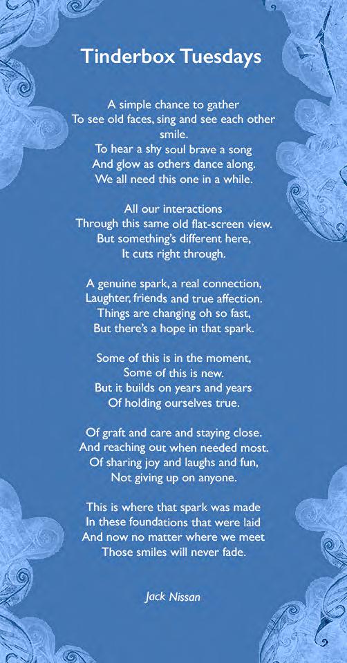 Tinderbox Tuesdays Poem